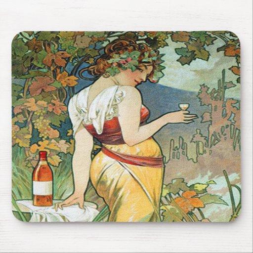 Alphonse (Alfons) Mucha: Cognac - art nouveau Mus Mattor