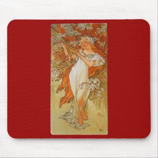Alphonse Mucha - art nouveau - vår Musmatta