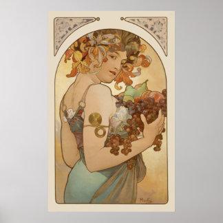 Alphonse Mucha CC0106 affisch