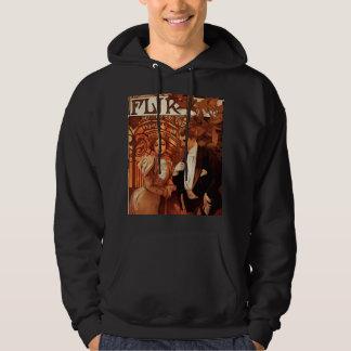 Alphonse Mucha flörtHoodie Sweatshirt