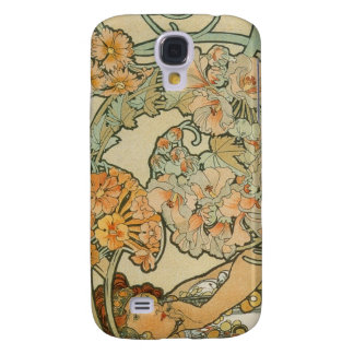 Alphonse Mucha konst Galaxy S4 Fodral