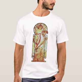 Alphonse Mucha - vitstjärna T Shirt