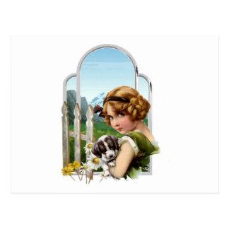 Alpin Maid Vykort