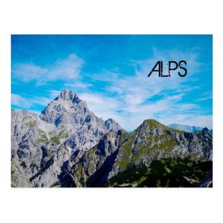 alpin panoramavykort vykort