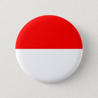 Alsace-Lorraine flagga Standard Knapp Rund 5.7 Cm