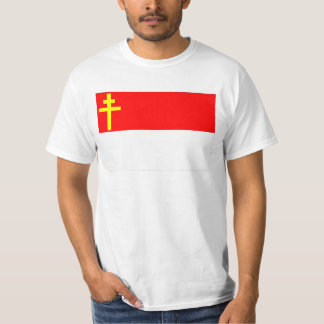 Alsace-Lorraine flagga T Shirt