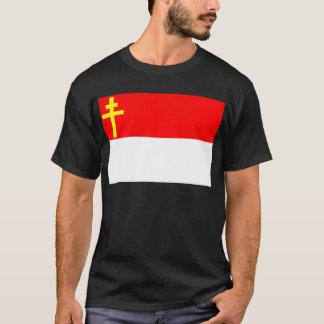 Alsace-Lorraine flagga T-shirts