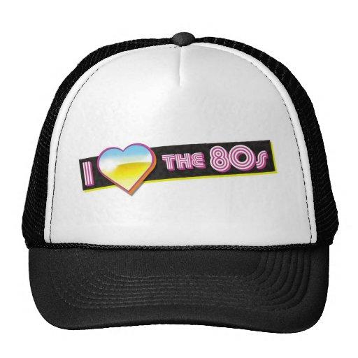 Älska 80-tal trucker keps