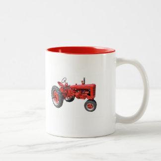 Älska de gammala traktorer Två-Tonad mugg