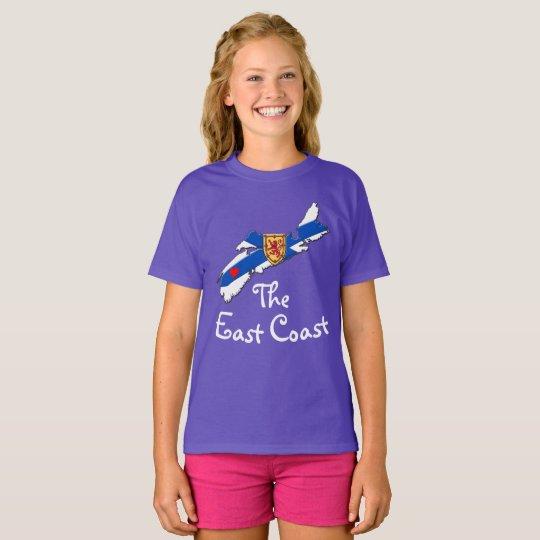Älska den ostkusthjärtaNova Scotia skjortan T-shirts