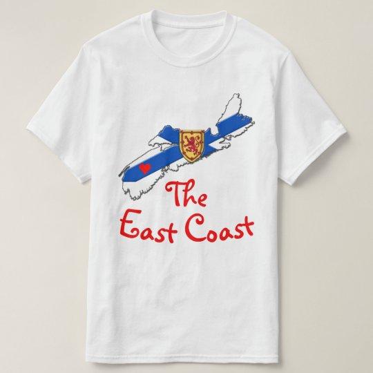 Älska den ostkusthjärtaNova Scotia skjortan Tröjor