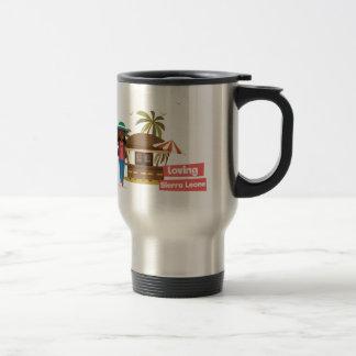 Älska den Sierra Leone travel mug Resemugg