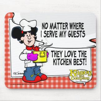 Älska det bäst kök musmatta
