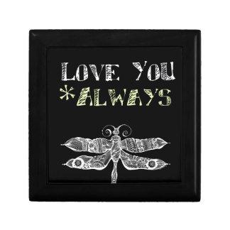 Älska dig alltid minnesask