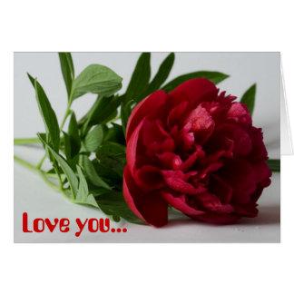 Älska dig… hälsningskort