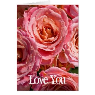 Älska dig kortet hälsningskort