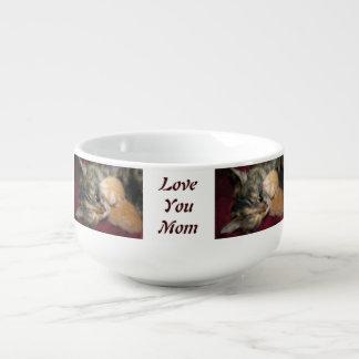 Älska dig mamman soppmugg
