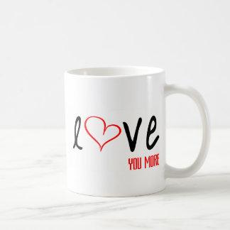 Älska dig mer mugg