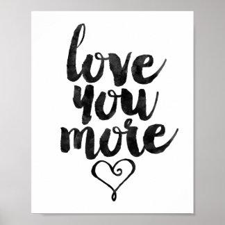 Älska dig mer poster