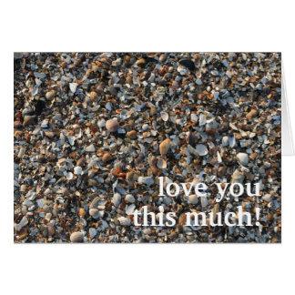 älska dig som är denna mycket hälsningskort