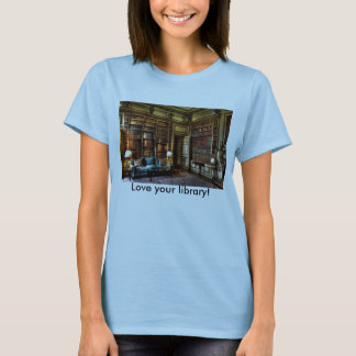Älska ditt bibliotek! t shirt