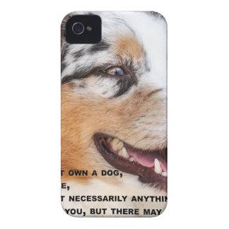 Älska en bra hund iPhone 4 cover