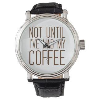 Älska enkelt kaffe, inte tills jag har haft mitt
