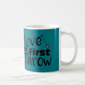 Älska först kast, bulta koppen för kastkaffemuggen kaffemugg