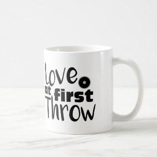 Älska först kast, kopp för mugg för