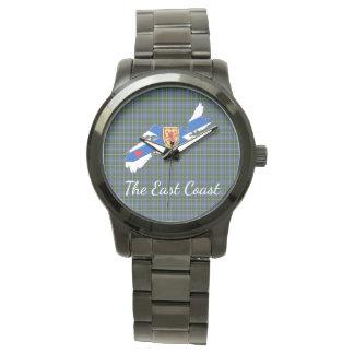 Älska klockan för tartanen för ostkusthjärta N.S. Armbandsur