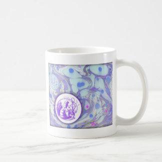 Älska lilor kaffemugg