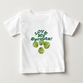 Älska min groddar tee shirt