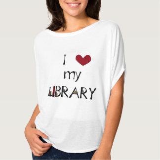 Älska mitt bibliotek tröja