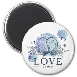 """""""Älska"""" standart, 2 som ¼ flytta sig mycket Magnet"""
