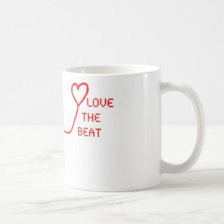Älska takten kaffemugg