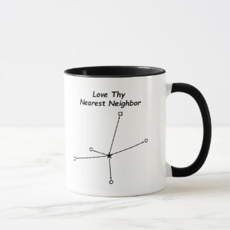 Älska Thy mest nearest grann Mugg