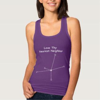 Älska Thy mest nearest grann T-shirt