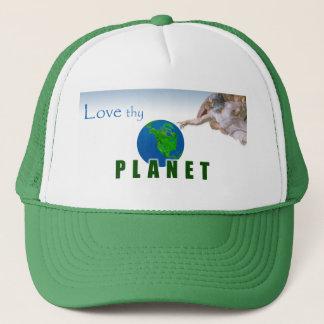 Älska Thy PLANET - hatt Keps