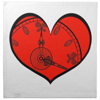 Älska Time Tygservett