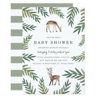 Älskad Dearly baby shower 12,7 X 17,8 Cm Inbjudningskort