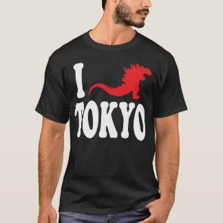 """""""Älskar Godzilla den Tokyo"""" T-tröja T Shirt"""