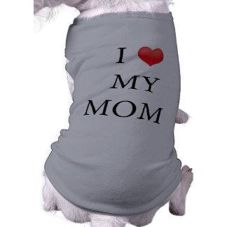"""""""Älskar jag hund tröja för min mamma"""""""