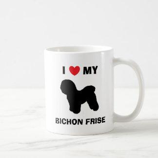 """""""Älskar jag min den Bichon Frise"""" muggen Kaffemugg"""