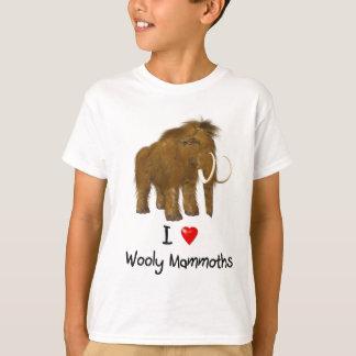 """""""Älskar jag Wooly kolossalt för Wooly Mammoths"""" T-shirt"""
