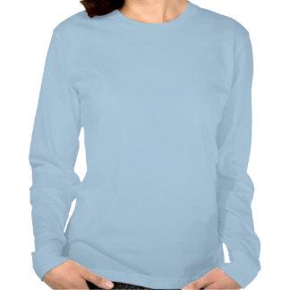 Älskar Långa-sleev kvinnor för T-tröja min alaskab