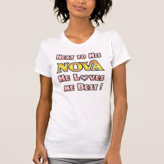 Älskar mig understöder till novaen t-shirt