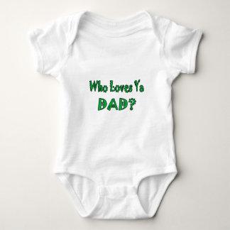 Älskar vem den Ya pappan? Tröjor
