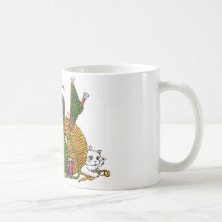 Älskar vem för att sticka? kaffemugg