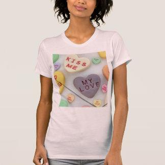 älsklingkvinna Hanes Nano V-Nacke T-tröja Tee