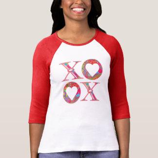ÄlsklingPaisley XOXO utslagsplats Tee Shirt